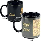 The Legend Of Zelda scmg24878 tazón thermo-reactif 315 ml/11oz (Map)