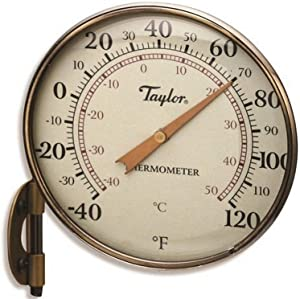 "Taylor Precision Products 481 4.25"" Metal Thermometer"