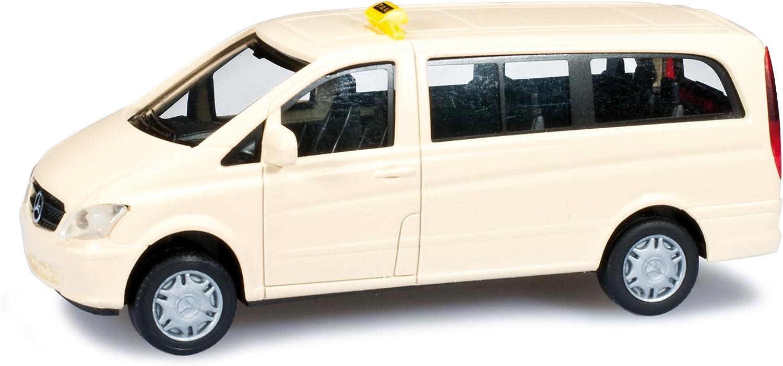 Herpa 090957 – Mercedes-Benz Vito (W639) Taxi, Modelo en Miniatura: Amazon.es: Juguetes y juegos