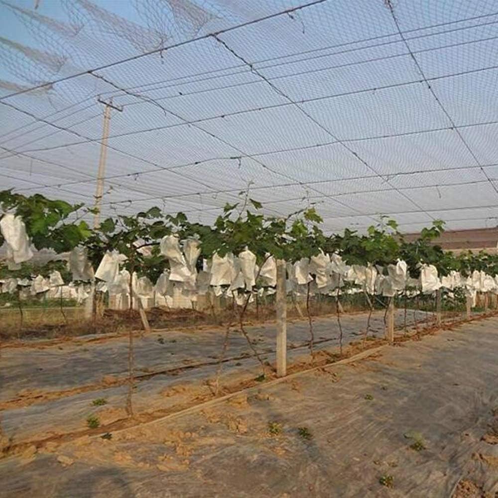 OUPAI Bloqueador Solar de Malla Redes para pájaros, plantas para jardines Proteger las plantas y los árboles frutales contra los roedores Aves Ciervos y otras plagas Malla de 0.78