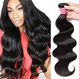 Ali Julia Hair 8a Brazilian Body Wave Bundles Unprocessed 100% Virgin Human Weave Hair Extensions Natural Black Color