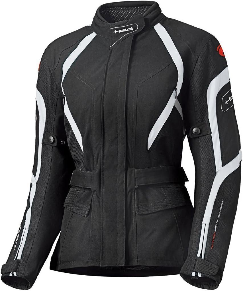 Held Shane Damen Motorradjacke Farbe schwarz Gr/ö/ße XS