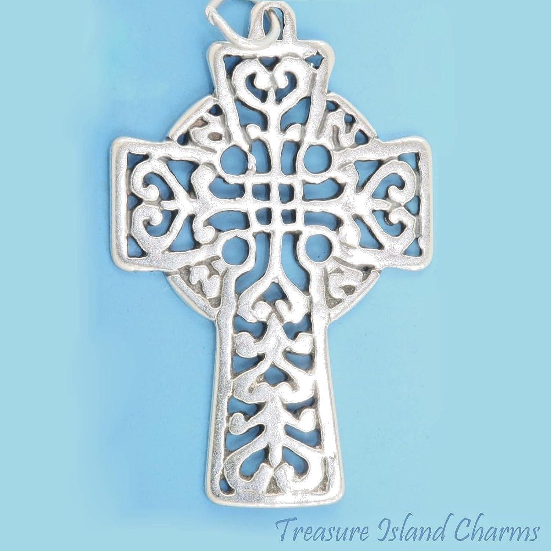 Charm Bracelet Large Celtic Cross