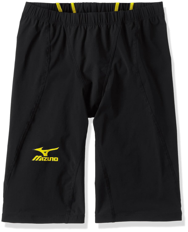 MIZUNO(ミズノ) レース用競泳水着 メンズ MX SONIC 02 ハーフスパッツ FINA承認 N2MB6011 B01ESLQ6E0 XXS 94:ブラック×イエロー