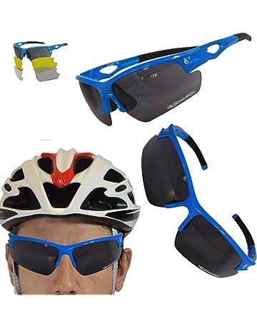 Running FT344C Bertoni Eyewear Sports Sunglasses Cycling Blue Lens