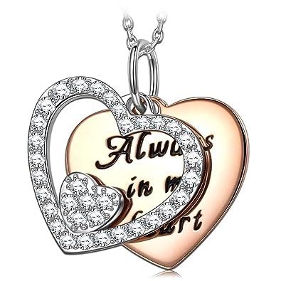 PRINCESS NINA San Valentin Regalos Collar Mujer Collar 925 ...