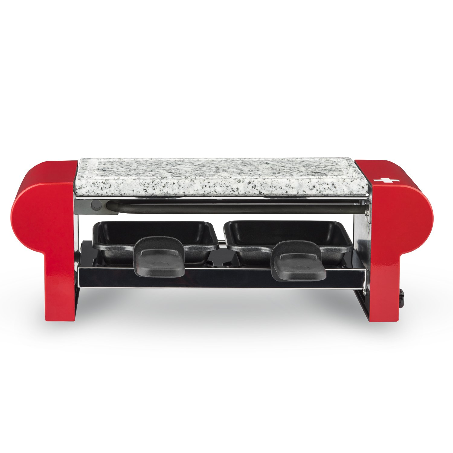 H.Koenig RP2 Raclette Grill Natural Stone 350W for 2 People