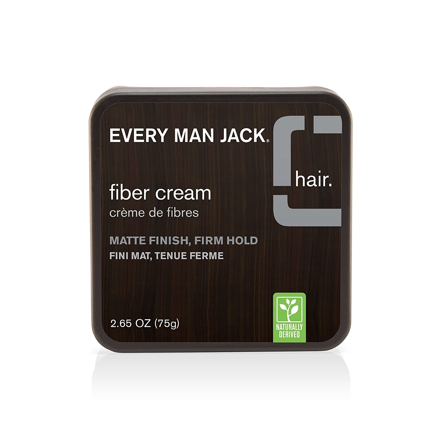 Every Man Jack Fiber Cream, Fragrance Free, 75 Gram Everyman Jack 91308