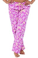 Alexander Del Rossa Womens Flannel Pajama Pants, Long Novelty Cotton PJ Bottoms