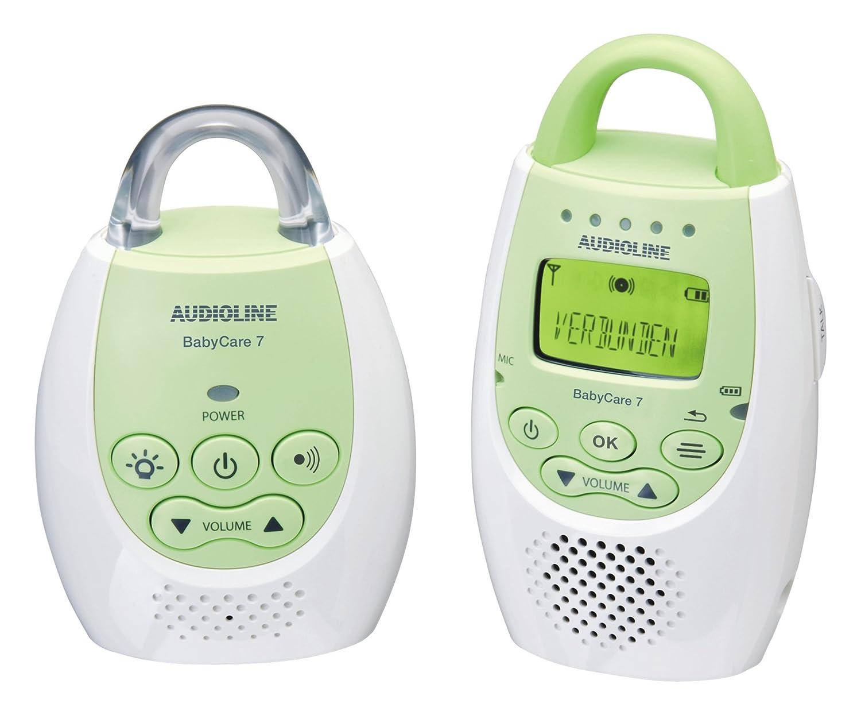 Babyfon Testbericht Audioline Baby Care 7