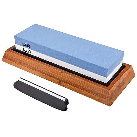 QXYOUNGA 1000/6000 Afilador de Cuchillo de Cocina ...