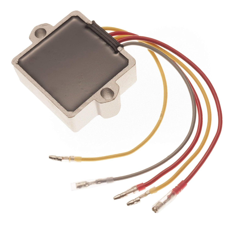 757 Mercury Mariner Rectifier Voltage Regulator 6 Wire 2004 Outboard Wiring Harness 815279 3 883072t 856748 Automotive