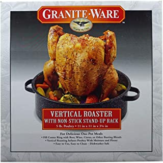 product image for Granite Ware Vertical Roaster, 2-Piece Set