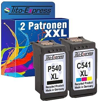 platinumserie - Juego de 2 cartuchos para impresora Canon PG ...