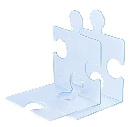 Han 9212-73 - Estantería de soporte de libros y CD diseño de Puzzle,