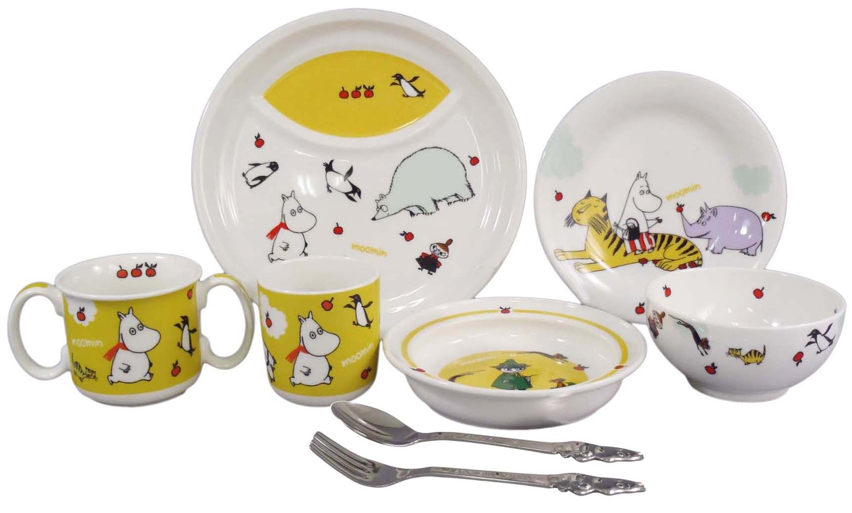 MOOMIN Moomin children tableware Dilley set MM140-303 by YamaKa shopping