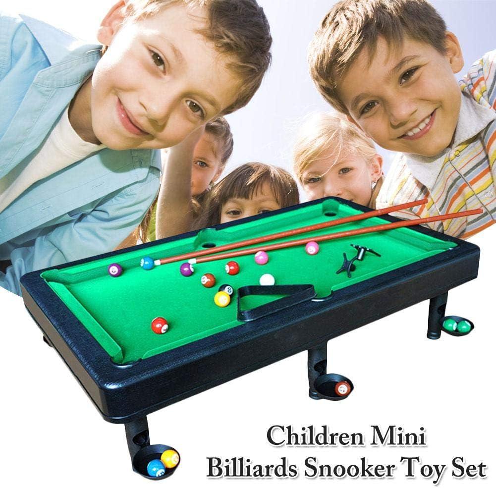 Juego de Mesa de Billar Mini Billar de Mesa para Niño Mesa de ...