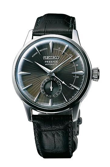 Seiko Reloj Analógico para Hombre de Automático con Correa en Cuero SSA345J1: Amazon.es: Relojes