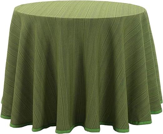 Falda para Mesa Camilla Redonda Modelo Darsena, Color Verde Kiwi ...