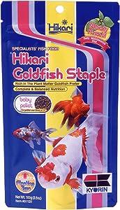 Hikari Goldfish Staple Fish Food for Goldfish and Baby Koi, 3.5 oz. (100g)