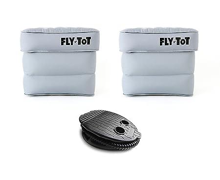 Fly Tot - Cojín Hinchable para avión (Unidad Doble, con ...