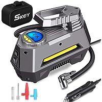 $34 » Skey Air Compressor Tire Inflator - Electric Auto Pump 12V DC Portable Air Compressor Pump…
