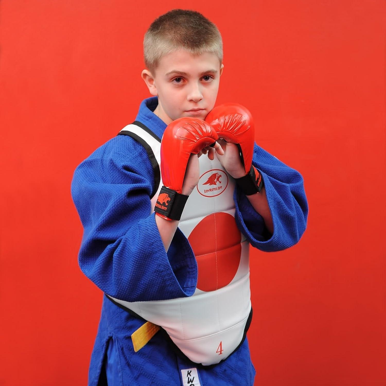 Lion Martial Arts MMA4516-21 Karate Glove Pair