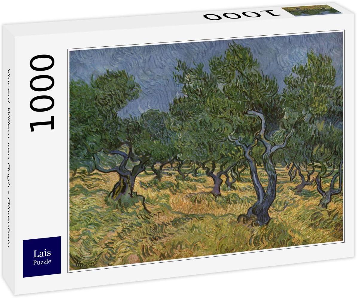 Lais Puzzle Vincent Willem Van Gogh - Olivar 1000 Piezas: Amazon ...
