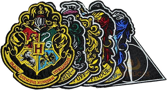 Set de 6 - Deluxe - Casas de Hogwarts + Las Reliquias de la Muerte ...