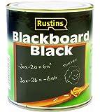 Rustins BLAB500 (Blackboard Paint) 500ml - Peinture à séchage rapide sur tableau noir