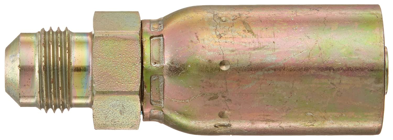 3//8 Hose ID AISI//SAE 12L14 Carbon Steel 1//4 Pipe Size EATON Weatherhead Coll-O-Crimp 33606E-104 Male Pipe Rigit Fitting