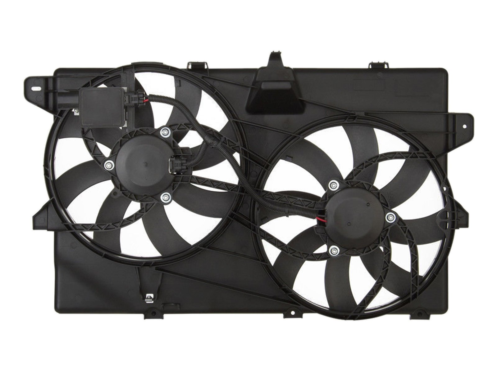 RADIATOR CONDENSER COOLING FAN FOR FORD LINCOLN FITS EDGE MKX V6 FO3115177 by Sunbelt Radiators