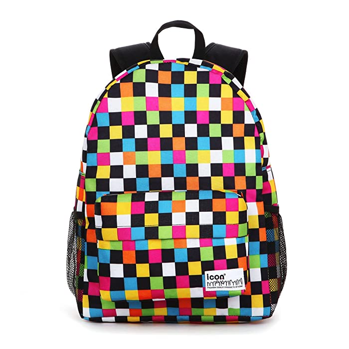 Amazon.com | Icon Cute Backpacks For Middle School Girls Cool ...