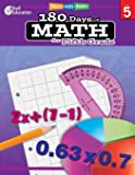 180 Days of Math: Grade 5 - Daily Math Practice Workbook for Classroom and Home, Cool and Fun Math, Elementary School…