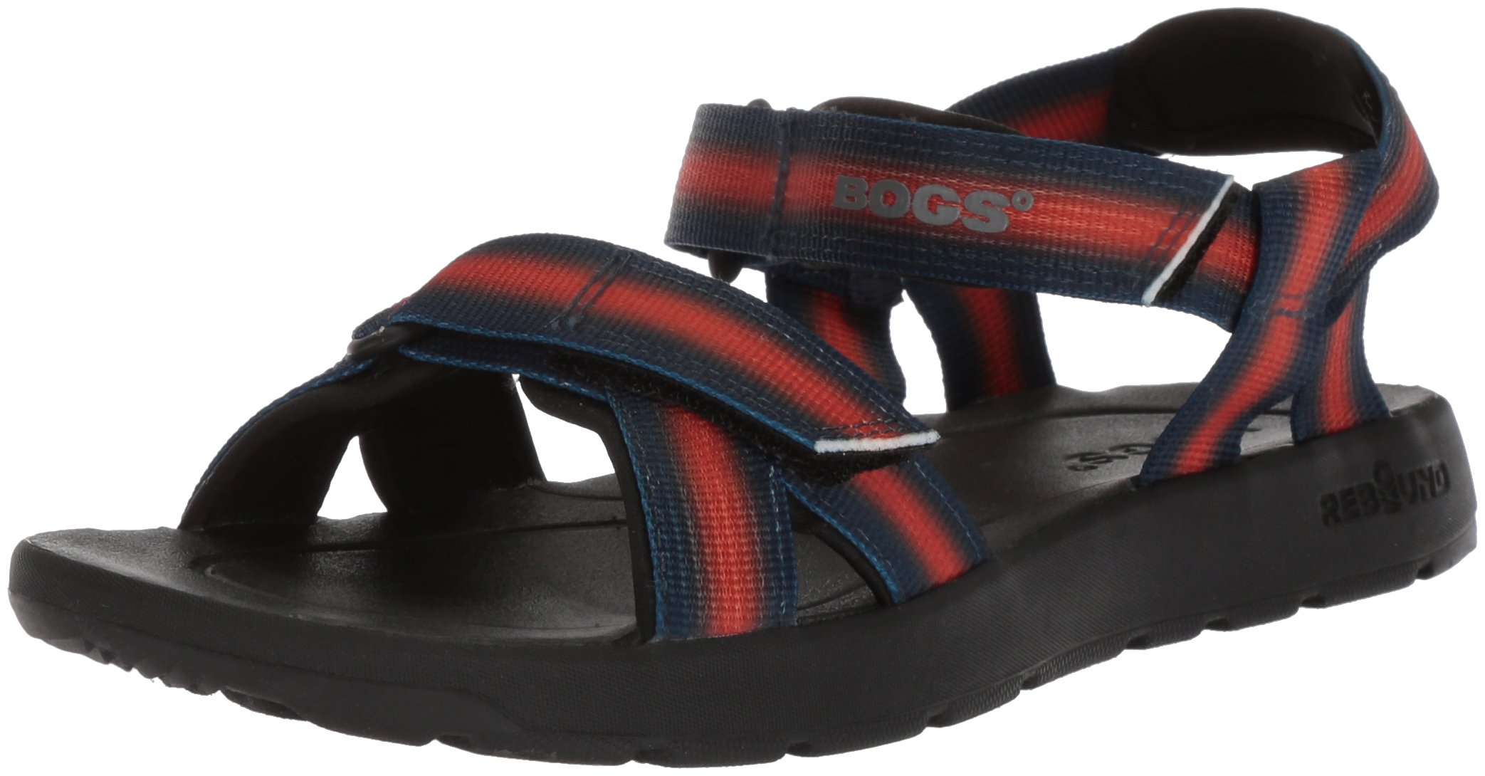 Bogs Kids/Toddler Rio Watersports Athletic Boys and Girls Sandal, Sunrise/Blue/Multi, 10 M US Toddler