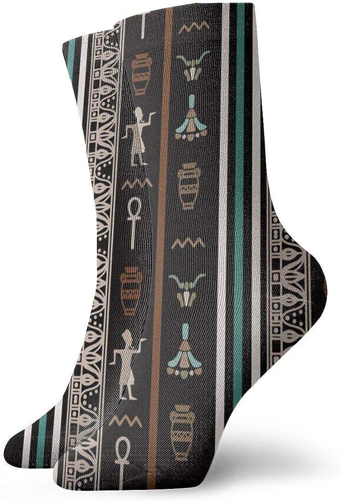 flys Egipcio patrón de impresión patucos casual divertido para botas ...