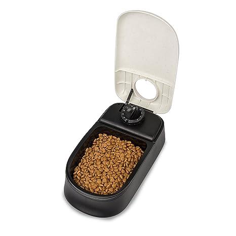 BIGWING Style-Alimentador Automático Comedero para Mascota Gato Perro Puntuable Temporizador Programable, 1 x