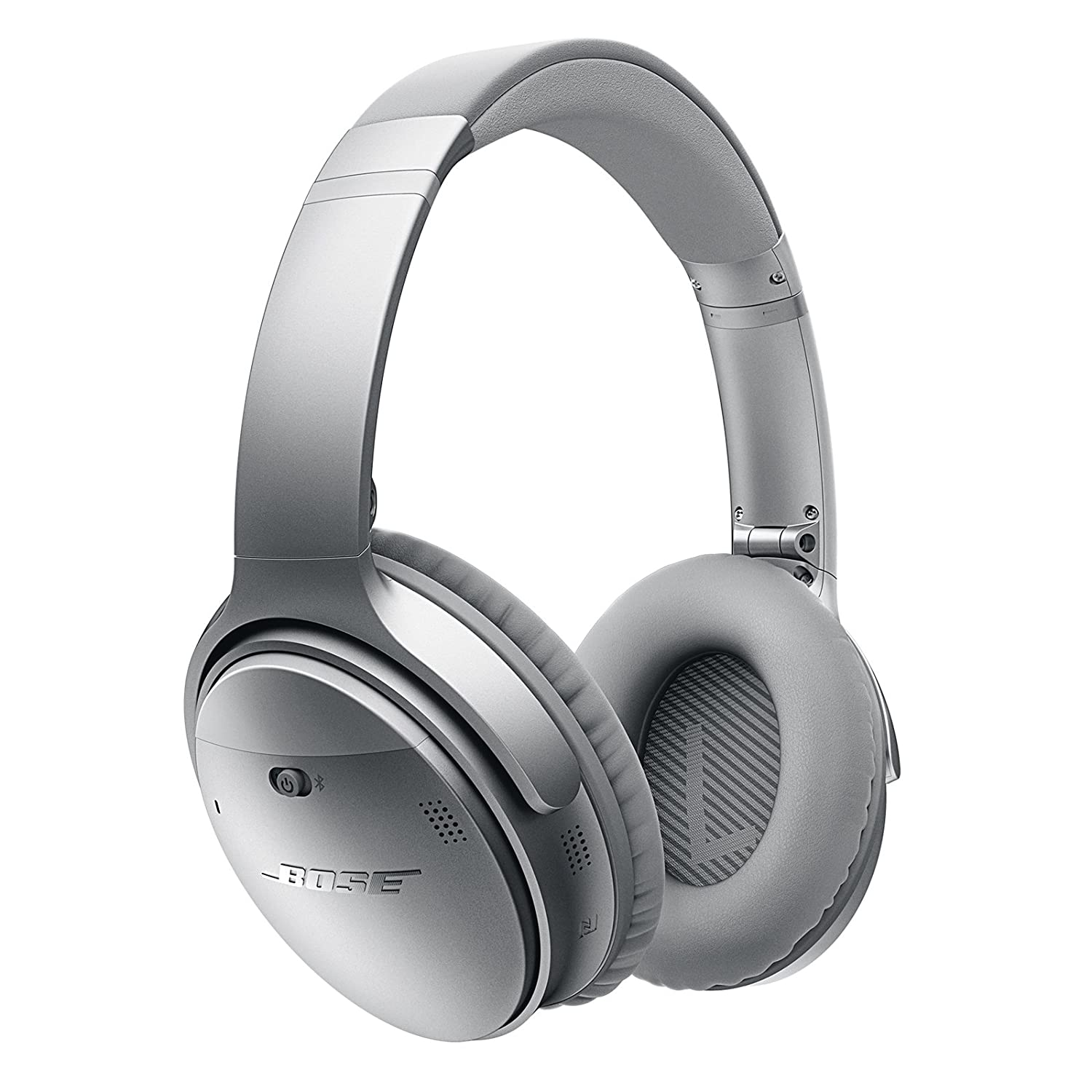 Bose QuietComfort 35 (Series I) Wireless Headphones, Noise Cancelling - Silver