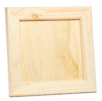 Vbs Holz Bilderrahmen Kiefernholz 21 5cm X 21 5cm Basteln Diy