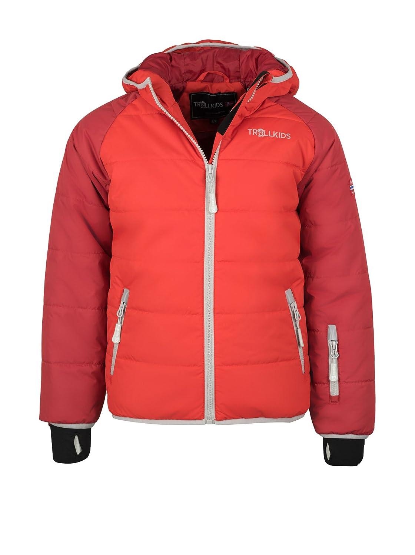 rouge Dunkelrouge 12 ans TrollEnfants Hafjell Veste de ski pour enfant