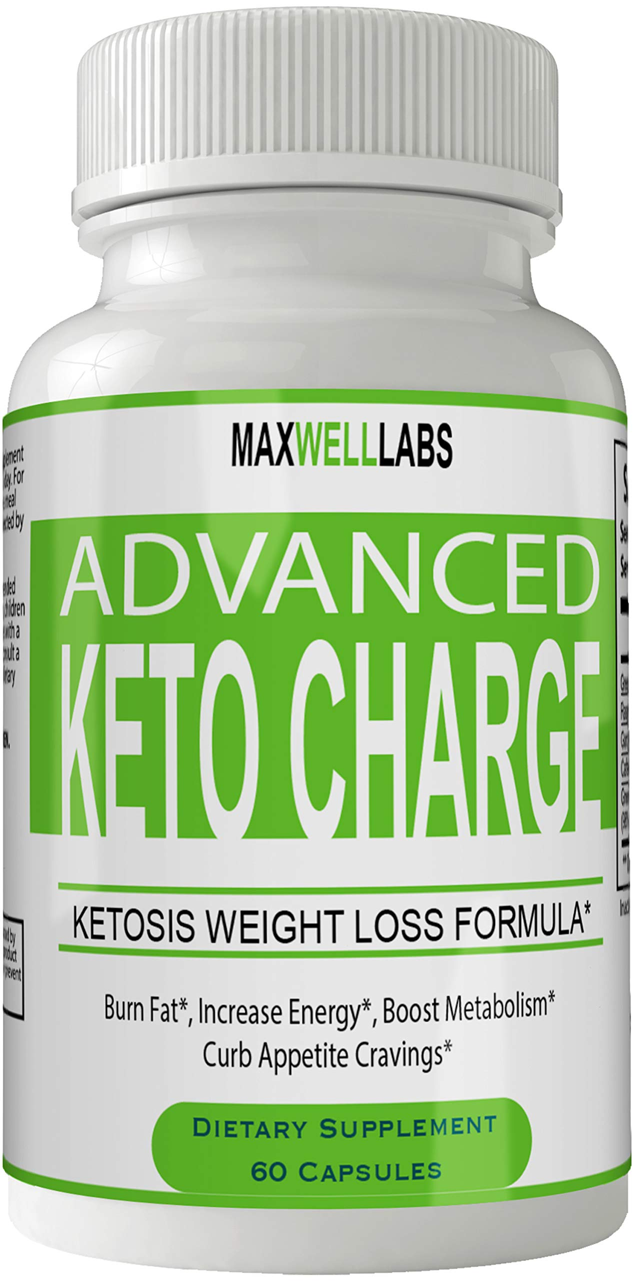 Keto Charge Advanced Weight Loss Plus Pills Keto Diet Capsules, Advanced Thermal Ketogenic Weight Loss Formula by nutra4health LLC
