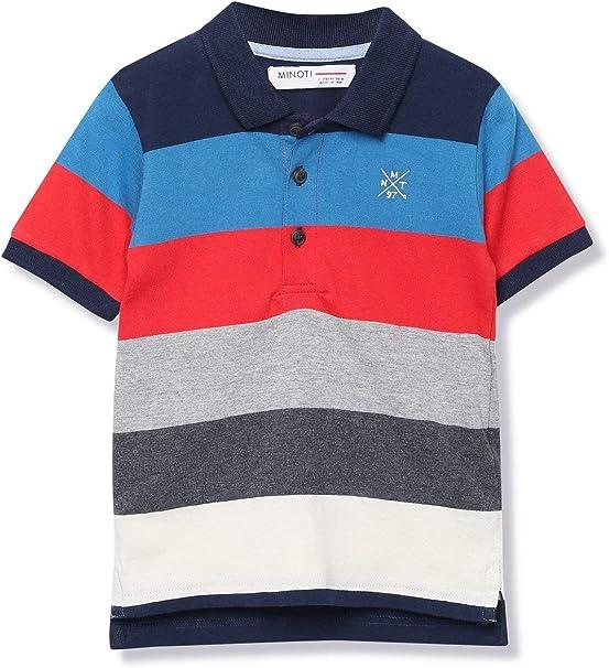 Minoti Blue Striped Shirt
