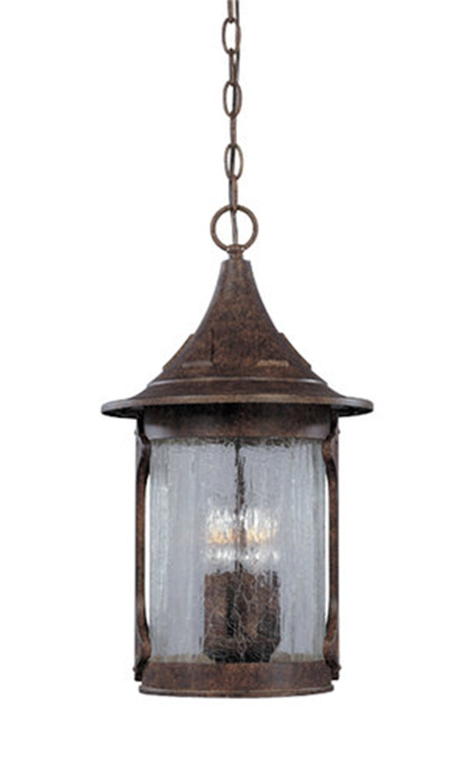 Designers Fountain 20934-CHN Canyon Lake Hanging Lanterns, Chestnut by Designers Fountain