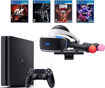 Amazon.com: Playstation 4 Slim Bundle (6 artículos): PS VR ...