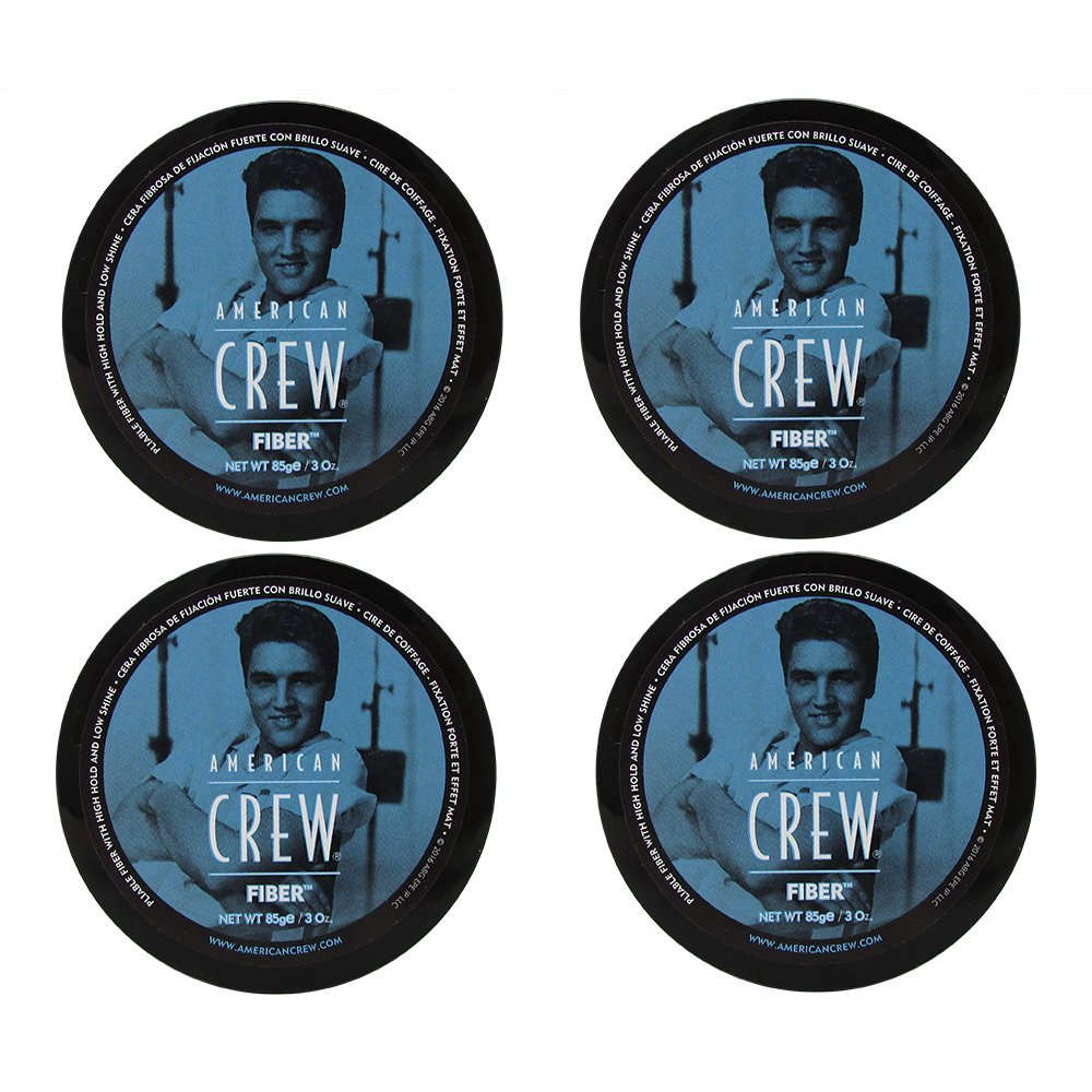 American Crew Fiber (Pack of 4) - 3oz each by AMERICAN CREW