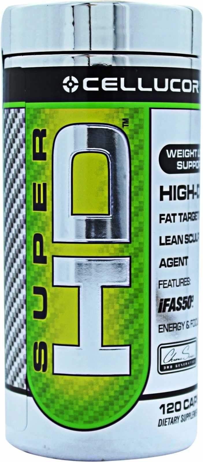 Cellucor Super HD Capsules, 120 Count Pack by FTW Nutritional Supplements