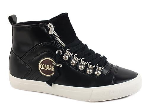 Donna Colmar durden neat sneakers lacci sportiva eco pelle  Amazon ... af751d7c50c
