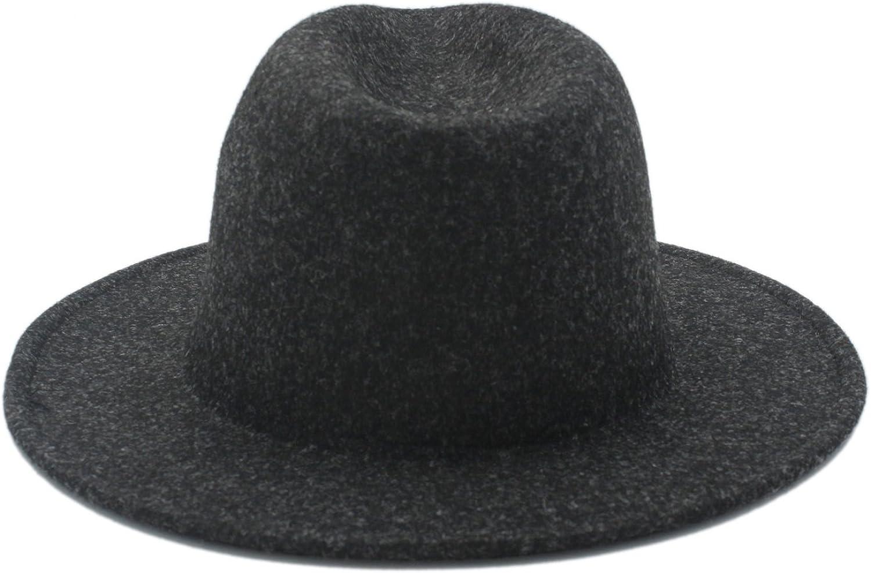 Hats Mens Wide Brim Hat Fedora Hat for Lady Cashmere Wide Brim Jazz Church Cap Vintage Panama Sombrero Top Caps
