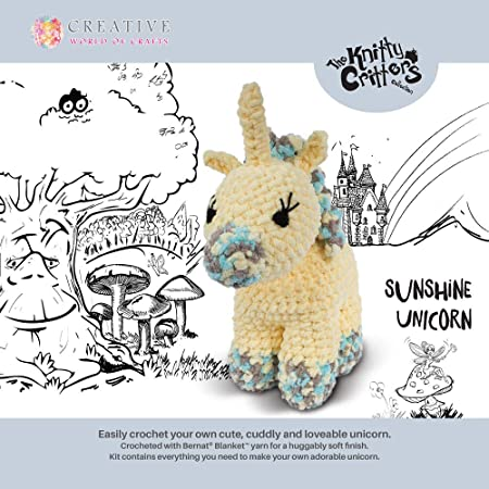 KNITTY CRITTERS Llama-Llulu
