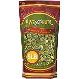 We Got Nuts Pumpkin Seeds Healthy Snacks 5Lbs (80oz) Bag | Raw Pepitas No Preservatives Added, Non-GMO, NO PPO, 100% Natural